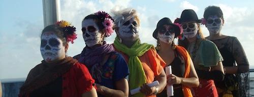 La marcha de las Catrinas 2016: Alto a los Feminicidios
