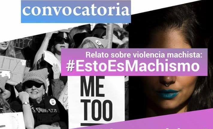 """Foto/ Campaña """"Esto es machismo"""", en redes sociales, 2018."""