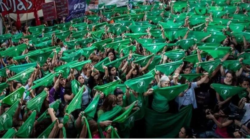 Pañuelazo Nacional por el derechos a decidir en México. 28 de septiembre de 2019