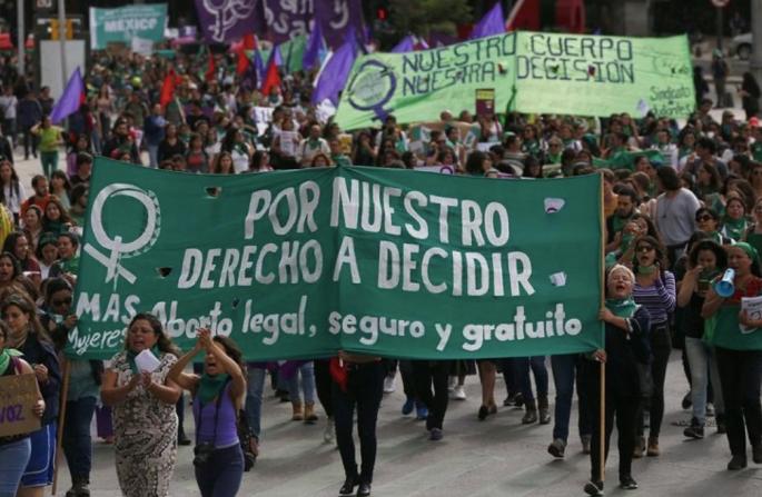¿Qué significa que se haya despenalizado el aborto en Oaxaca? / Foto de twitter
