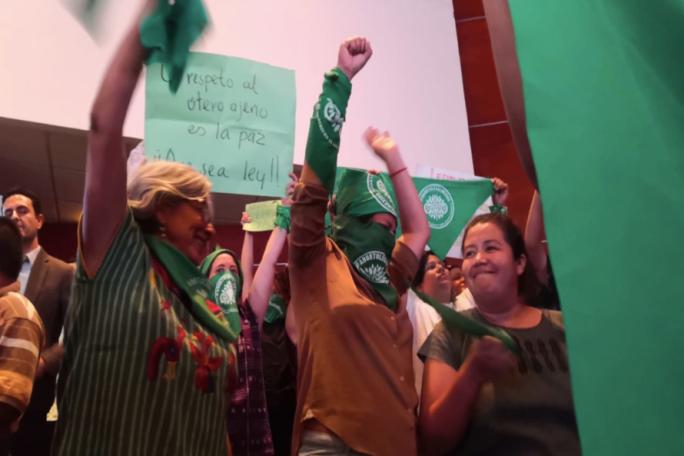 Oaxaca hace historia, se convierte en la segunda entidad en despenalizar aborto / Foto: Cimac Noticias