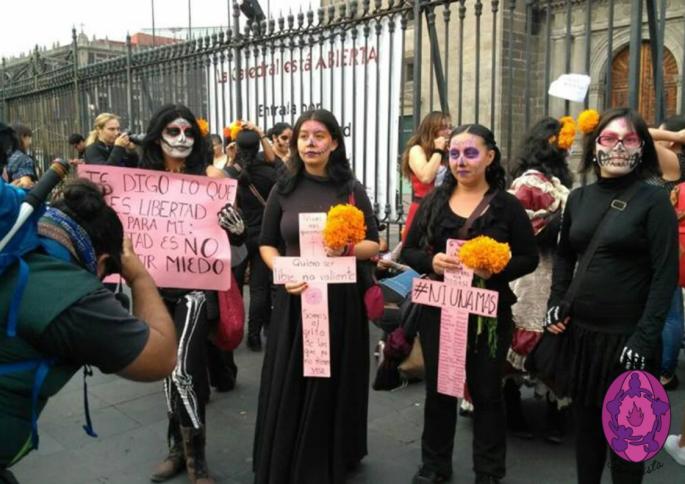 Así fue la Marcha de la Catrinas 2017 en CDMX